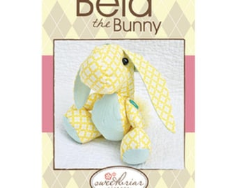 Sweetbriar Sisters Bela the bunny stuffed animal pattern