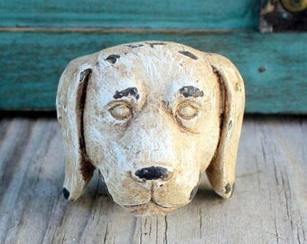 Dog Knob, Dog Leash Holder, Animal Knob, Cabinet Knob, Drawer Pulls, Doggie Knob, Farmhouse Style Chic, Puppy Nursery, Fixer Upper Style