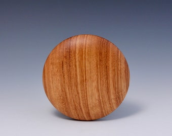 "A  4"" ZebraWood Round Wooden Rib for Throwing Perfect Bowls by Hsinchuen Lin 林新春"