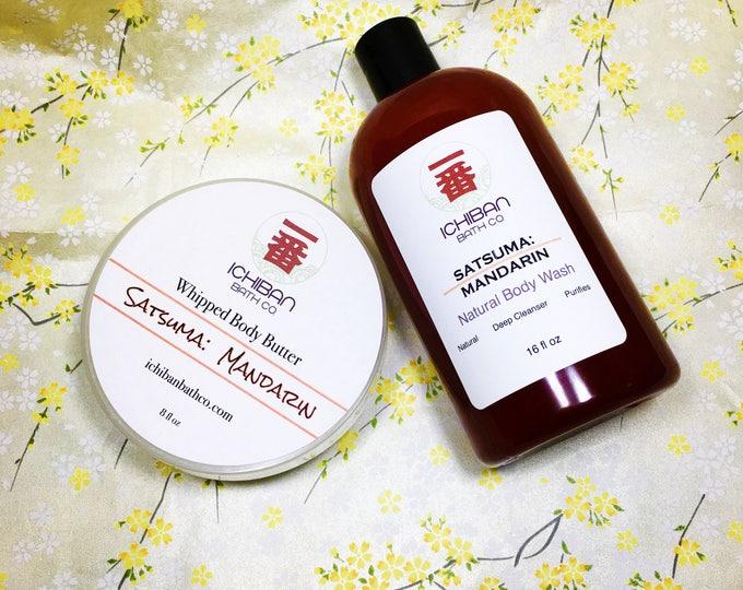 Satsuma Mandarin Bath + Body Collection