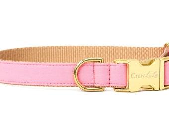 Crew LaLa™ Carnation Pink Dog Collar
