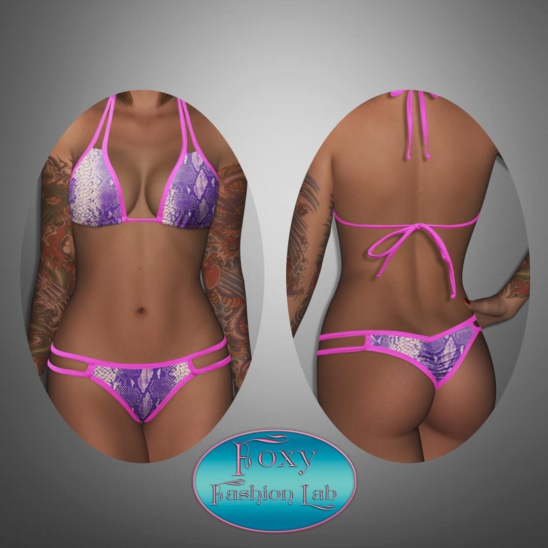 Sweet cheeks bikini