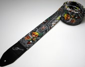 Video game character handmade double padded guitar strap - This is NOT a licensed product