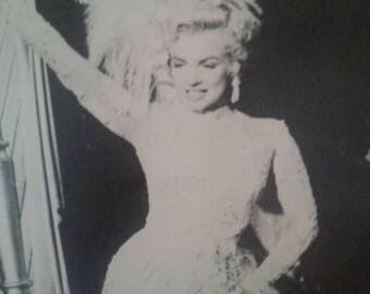 Now On Sale 1980's Marilyn Monroe Photograph Print, There's No Business Like Show Business, 20th Century Fox