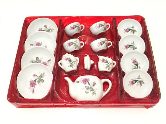 porcelain tea set tea set for children tea set for girls. Black Bedroom Furniture Sets. Home Design Ideas
