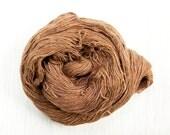 Silk Lace Weight Thread in Chocolatey Brown