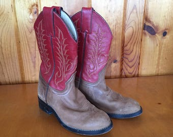 Tony Lama Childs Cowboy Boots