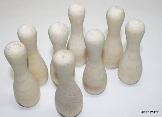 Pernos de bolos madera fabricación suministro Set de