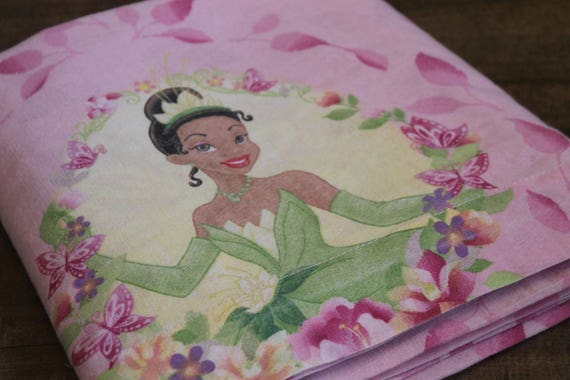 Disney Princess Tiana FULL flat sheet