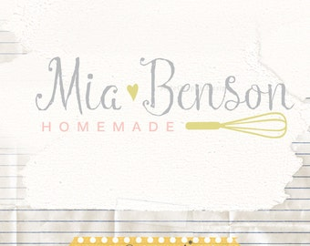Baking Logo , Recipe Blog Logo, Bakery Logo , Baking Blog, Whisk Logo