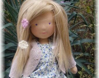 AUGUST 2017 - Custom Waldorf  Doll Deposit for 15, 17, 19 inches doll