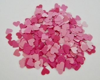Itsy Bitsy Hand-punched Valentine Hearts Confetti
