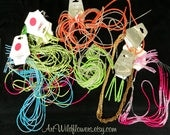 5 Glass Sead Bead Necklaces - Jewelry DeStash Multi-Strand Craft Supply Lot