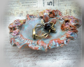 Ring Holder, Mothers Day Gift,  Jewelry Holder,  Jewelry Holder, Ring Bowl       #13