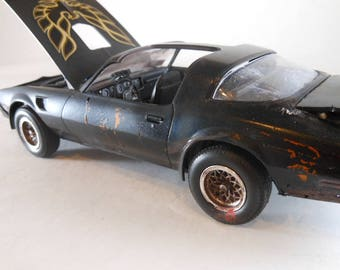 Trans Am,Scale Model Car,Classicwrecks,Pontiac Firebird,Smokey and Bandit