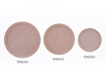 20pcs wood Round Pendant Blanks,Cabochon Setting fit 20mm 25mm 30mm round cabochons,primary,101651