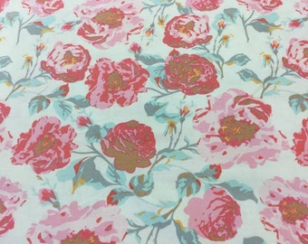 Riley Blake Chatsworth c4800 pattern in cream by the half metre
