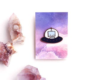 spacebot ship | ENAMEL PIN