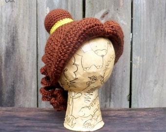 Belle wig for toddler, Beauty and the Beast