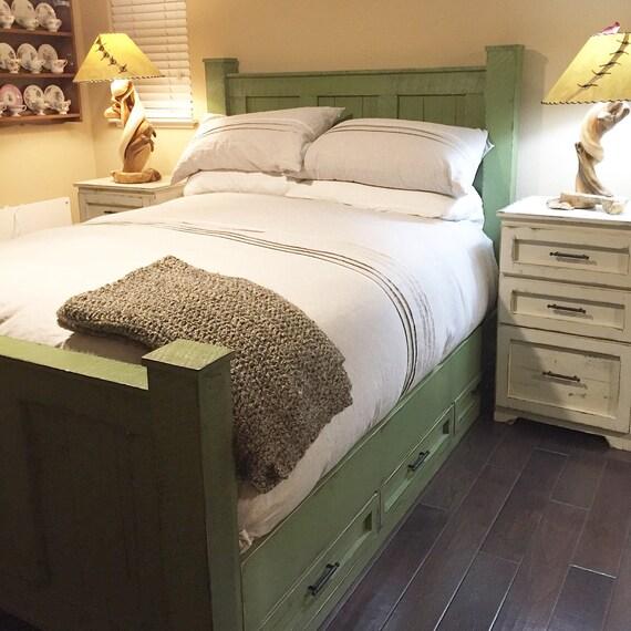 California King size Bed framesolid wood bedbedroom