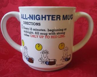 Vintage All-Nighter Mug