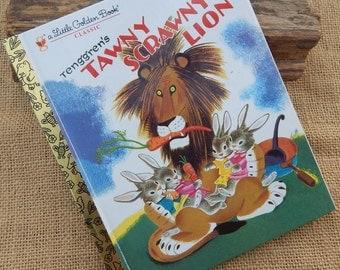 Tawny Scrawny Lion   ~   1980 Little Golden Book