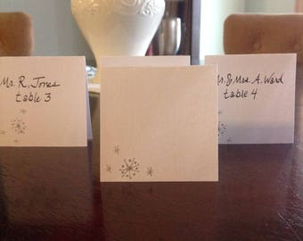 Stars Place Cards