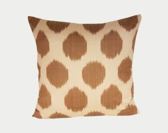 Ikat Pillow, Ikat Pillow Cover NPI11, Ikat throw pillows, Designer pillows, Decorative pillows, Accent pillows