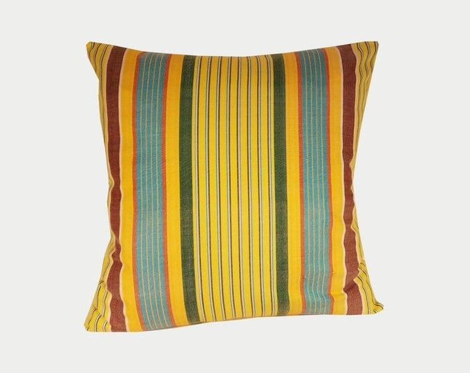 Ikat Pillow, Ikat Pillow Cover NPI101a, Ikat throw pillows, Designer pillows, Decorative pillows, Accent pillows