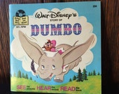 Dumbo - Walt Disney's Story of Dumbo Read Along Book and Record