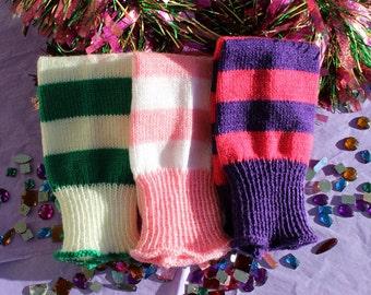 Child Strawberry Leg Warmers for MARDI GRAS Infant - 8 yrs