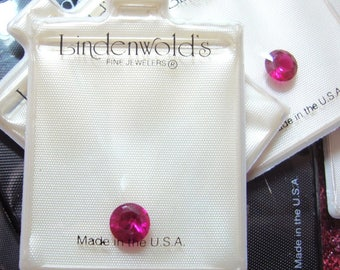 6mm round cubic zirconium gemstones