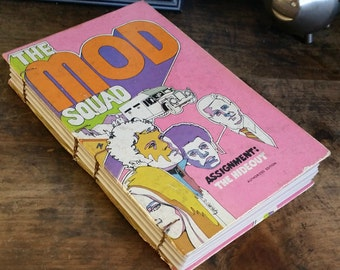 Vintage Book Cover Journal - The Mod Squad - 5 x 8 by The Orange Windmill on Etsy 1684
