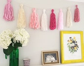Yarn Tassel Wall Hanging