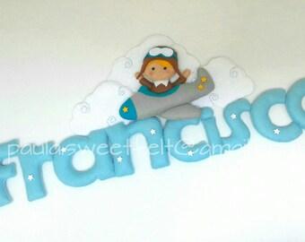 Cute Aviator Sign / Name Banner