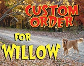 Custom Listing for Willow