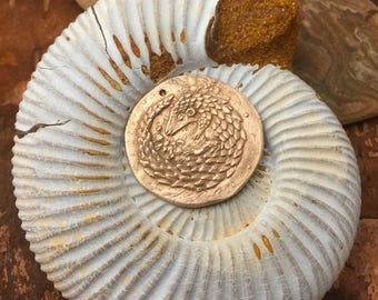 Bronze Pangolin Coin