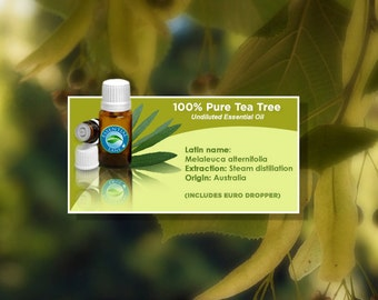 Tea Tree Essential Oil, Tea Tree, Essential Oil, Tea Tree Oil, Essential Oils, Pure Essential Oil, Aromatherapy Oil, Aromatherapy Oils