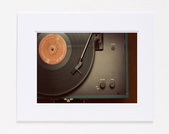 Record Player Fine Art Photography Print SALE
