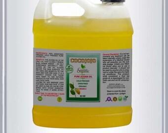 Jojoba Oil 100% Pure Organic Golden Jojoba