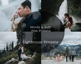 Film Presets: Moody & Soft | Lightroom Presets for Underexposed Images