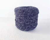 T-Shirt yarn, cotton cord, patterned  t-shirt yarn, Necklaces Bracelets, home decor, recycled fabric  yarn