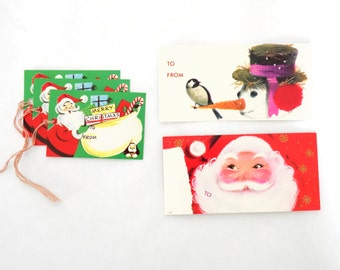 Lot of 23 Vintage Christmas Gift Tags
