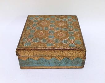 Franco Tacchi Jewelry Keepsake Box Italy