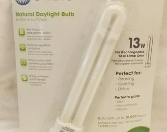Ott Lite Natural Daylight Bulb 13W For Rechargeable Task Lamp Only