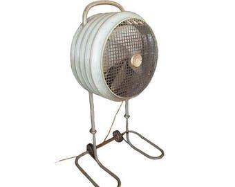 Vintage Mobilaire Westinghouse Fan 50's Mid Century Industrial Floor Fan
