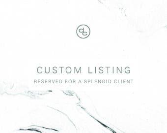 Custom Listing | Stefanie Litman