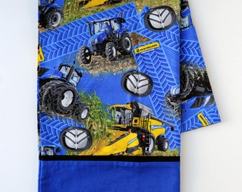 New Holland Pillow Case, tractors and combines