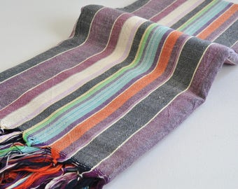 Turkish Towel Antioch Cotton Peshtemal hand for beach and bath multicolor