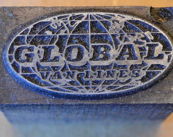 Global Van Lines Printing Block